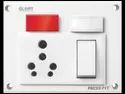 Press Fit - Glory 5-in-1 6/16 Amp. Indian Switch Socket Combined