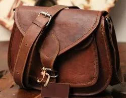 Handmade Vintage Ladies Leather Bag