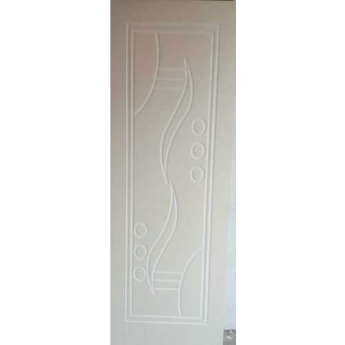 White Solid Pvc Door