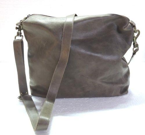 8af4a3193 Gray HV Genuine Leather Messenger Bag, Rs 1100 /piece, Handicraft ...