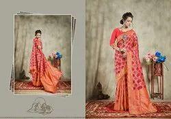 Pure Tussar Silk Saree