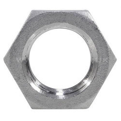 Mild Steel Threaded MS Hexagonal Lock Nut, Size: M3-M24