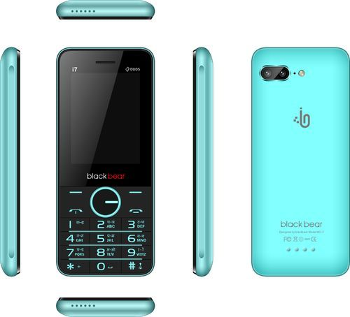 Blackbear Blue Feature Mobile Phone, I7