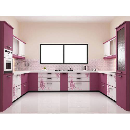 Modern Pvc Modular Kitchen Rs 4000