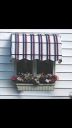 acrylic fabric Window Awning