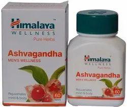 Ashwagandha White Ashvagandha, Model Name/Number: Ayurvedic, Packaging Size: 60 Tablets