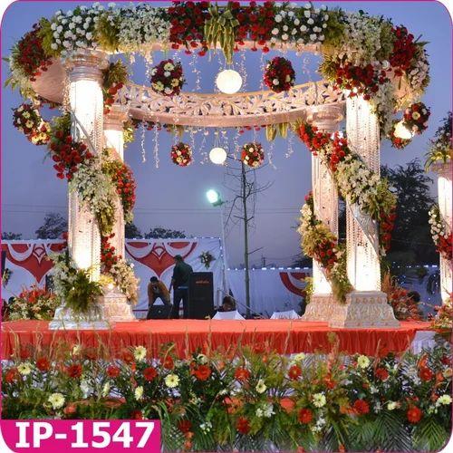 mandap decoration in ahmedabad sarangpur by nilkanth handicraft