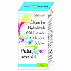 OLOPATADINE 0.1% WITH KETOROLAC 0.4% EYE DROPS (PATAONE-KT)