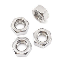 Brass Silver Plated Hex Nut