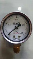Gas Cylinder Pressure Gauge