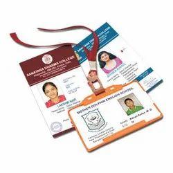 Rectangular PVC Identity Card