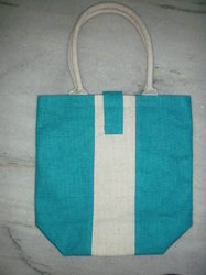 Blue & White Bag