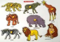 KNOB PUZZLE ANIMALS