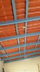 Turatuf UPVC Spanish Model Brick Red Colour Sheets
