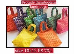 silk brocade thamboolam bag