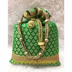 Hand Embroidery Potli Bag