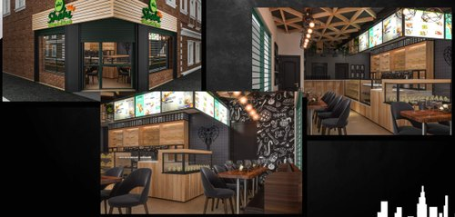 Bakery Shop Interior Design Services