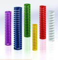 Steel Cylinder Industrial Tool Compression Spring, Packaging Type: Box