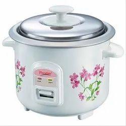 Prwo 0.2-6 Prestige Delight Electric Rice Cooker, White