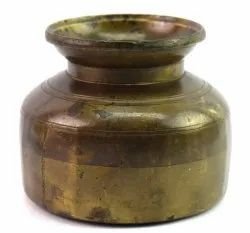 Antique Indian Unique Water Pot Handcrafted Hindu Pooja Holy Water Pot G56-40