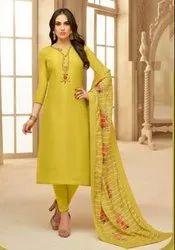Designer Upda Silk Salwar Suit