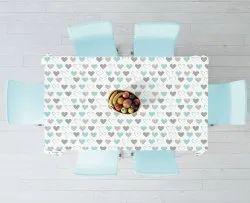 anjaneya Multicolor Table Cloth, Size: 100x100cm, 100x140cm