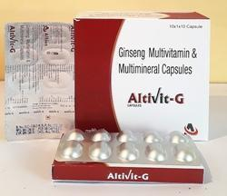 Ginseng C Multivitamin and Multimineral Capsule
