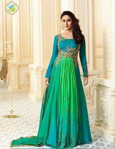 9569e96225 Free Size Multicolor Vinay Fashion Kareena Georgette Dress, Rs 16403 ...