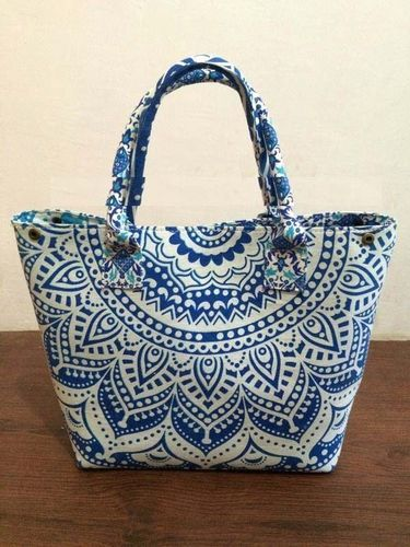 Women S Handmade Mandala Cotton Handbag Ping Purse Desig