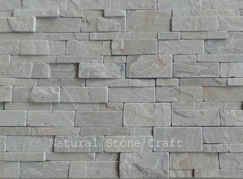 Stone Strip Quartzite Wall Cladding Tiles Rs 130 Square