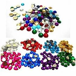 Stones Round, Golden Pipe Beads ,Round Rocailles/Glass Seed Beads for Jewellery Making