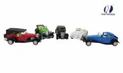 Wah Notion Imported Die Cast Vintage Metal Classic Cars Combo For Kids