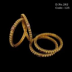 Traditional Polki Bangles Set