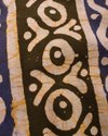 44-45 Multicolor Batik Printed Cotton Fabric, For Dress, Gsm: 50-100 Gsm