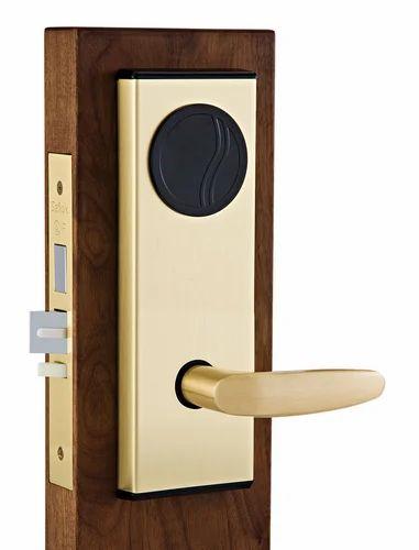 hotel door lock types. Godrej RFID Hotel Locks, Finish Type-Stainless Steel, Silver Door Lock Types