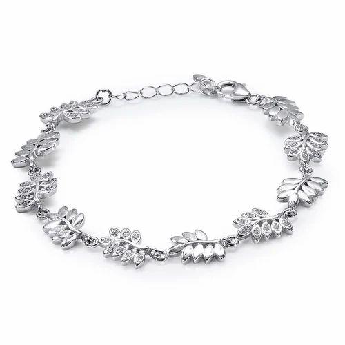 23489b7c8e776 Taraash Silver Bracelet, ACPL Jewels Private Limited   ID: 19051626073