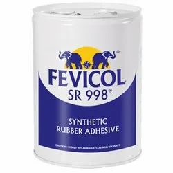 Plastic Fevicol SR 998 Synthetic Rubber Adhesive, Packaging Size: 1kg, Grade Standard: Industrial Grade