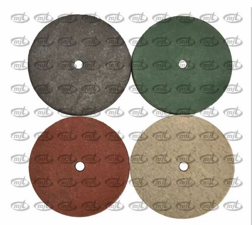 Rubber Wheel Silicon Carbide Round
