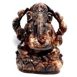 Gemstone Ganesha Statue