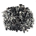Natural Black Banded Agate Plain Cabochon