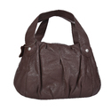 Hawai Leather Shoulder Bag For Women In Brown