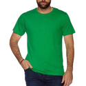 Cotton Green Plain Mens T-shirts, Size: S To Xxxl