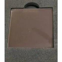 Hazel Brown Glass, Size: 2140 X 3300 Mm