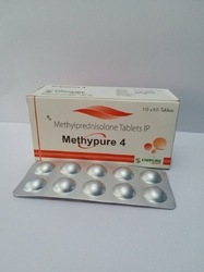 Methylpredinisolone 4 mg Tablets