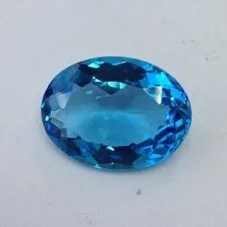 Swiss Blue Topaz Mix Shape Checker Cut Loose Gemstone