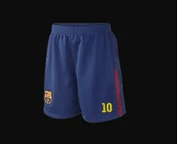 Polyester Printed Mens Jersey Sports Short