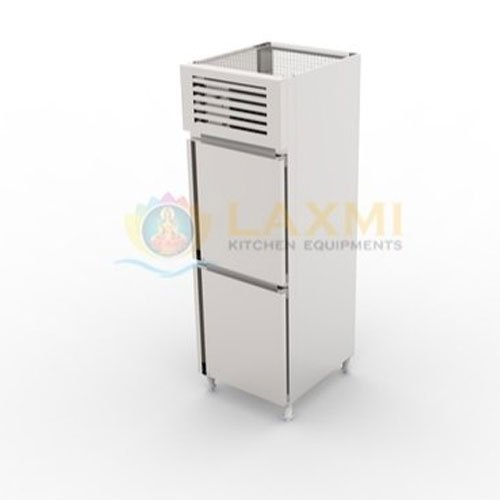 Stainless Steel Laxmi Vertical Two Door Refrigerator, -18 To -22 Deg C