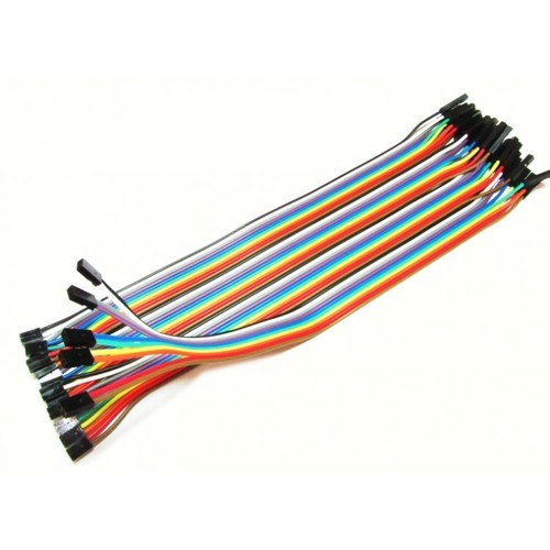 Female To Female Jumper Wires | Female To Female Jumper Wire At Rs 40 Bunch Jumper Wire Id