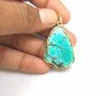 Gemstone Turquoise Pendants