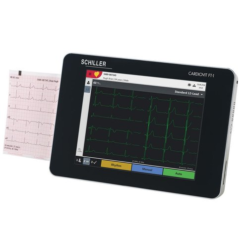 ECG Machine - Schiller Cardiovit FT-1